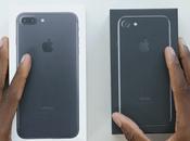 iPhone Plus noir jais 1ers unboxing