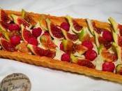 Tarte figues, vanille, tonka framboises façon Fantastik