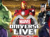 Marvel Univers Live L'univers spectacle l'Accor Hôtels Arena Paris pour petits grands