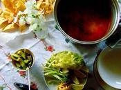 Soupe pozole végétale