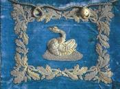 Enveloppe brodée cygne: Louis Bavière conservait lettres Richard Wagner