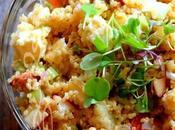 ~Salade quinoa, féta pommes~