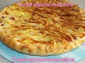 Tourte oignons lardons