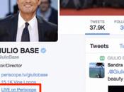 Liez votre compte Periscope profil Twitter