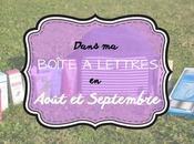HAUL coeurs août septembre, dans boîte lettres…