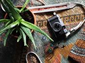 Papillon Leather Camera Strap