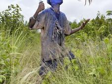 Charles Freger hommes bleu asafos Togo