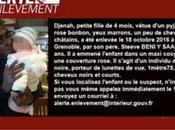 ALERTE ENLEVEMENT racisme d'état kidnappé Enthoven