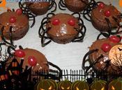 Cupcakes araignée choco/nutella