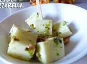 Cubes Mozzarella marinés pistou coriandre pour apéro toutes saisons