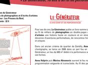 Livre anniversaire Générateur, d'art performances