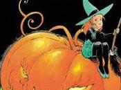 Retour Halloween enfance avec sorcière Mélusine