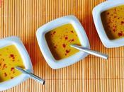 Velouté citrouille lait coco curry