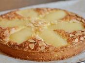 Tarte amandine poires tarte Bourdaloue sans gluten