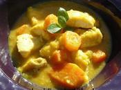 Poulet légumes façon Indienne