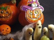 Petites pizza araignées d'Halloween, doigts sorciére ensanglantés,fantomes bananes chenilles font peur!