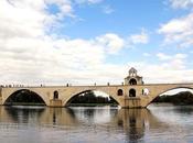 route pour Avignon Capitale européenne l'aquarelle