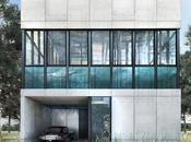 L'incroyable maison dont piscine occupe tout deuxième étage