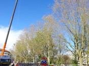 travaux pendant week-end pont Carouge