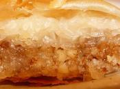 Baklava pâte filo amandes noisettes
