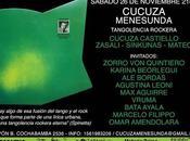 Dernière soirée Cucuza Menesunda pour saison l'affiche]