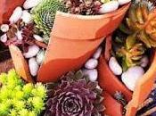 Comment transformer pots terre cassés magnifiques décors