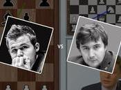 Partie championnat monde d'échecs