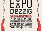 Expo sérigraphies Dezzig Saint-Julien décembre