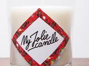 Jolie Candle d'année avec bougie Pain d'Épices