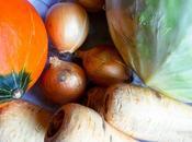 Fruits légumes Décembre Alsace Vegetables December