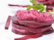 Millefeuille betterave rouge faisselle