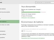Savoir combien temps reste pour batterie charge 100%