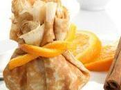 Aumônières compotée d'orange-cannelle