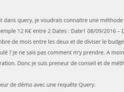 Power Query: Répartir montants entre différentes dates