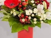 Pour Noël Interflora Fleuristes vous proposent
