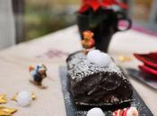 Bûche Noël chocolat caramel beurre salé