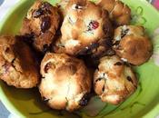 Cookies coco-cranberries
