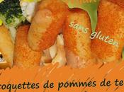 Recette croquettes pommes terre fromage, fines herbes (végétariennes, vegan, sans gluten)