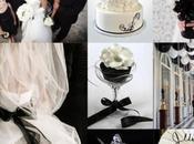 Couleurs mariage noir blanc combinaisons glorieux