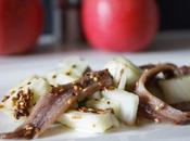 Salade fenouil pommes anchois