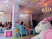 Unicorn café retomber enfance dans licorne Thaïlande