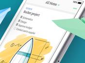 [Disponible] Evernote iPhone devient simple rapide