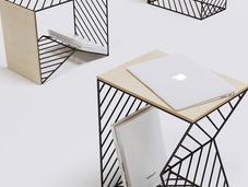 Bedside Table, table chevet Fail Gilmanov