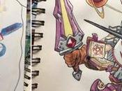 papa illustrateur s'inspire dessins fils