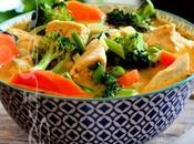 ~Soupe-repas thaïlandaise poulet coriandre~