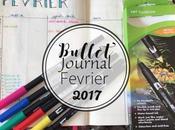 Bullet Journal mois Février 2017
