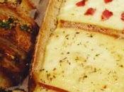 Raclette pain mouillettes persillées