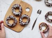 Petits gâteaux semoule coco-mandarine-chocolat façon donuts