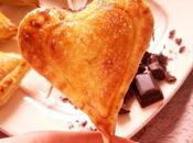 Petits Coeurs Feuilletés Choco-Framboise