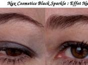 Cosmetic Ombre Paupieres Black Sparkle